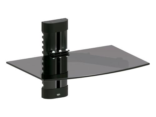 Soporte Dvd- Sinto - Deco.vidrio Templado Negro C/regulacion