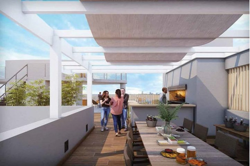 Venta De Apartamento De 2 Dormitorios En Tres Cruces Bv 2031