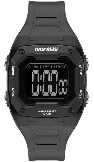 Relógio Mormaii Infantil Digital Negativo Original + Nf