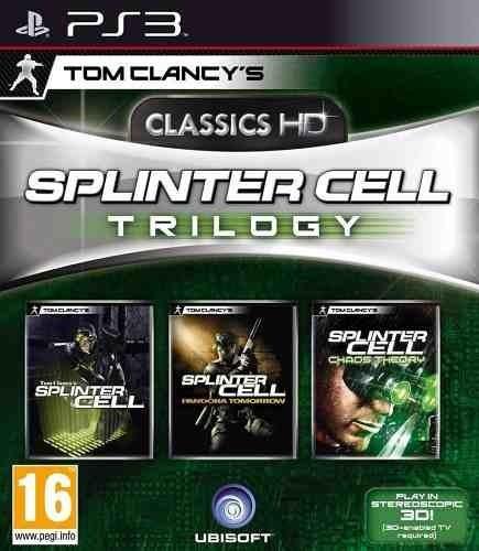Tom Clancys Splinter Cell Trilogy Hd - Jogos Ps3
