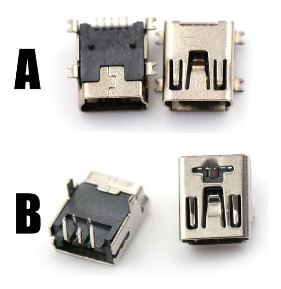 Conector De Carga Mini Usb Ps3 Dualshock Soquete Entrada