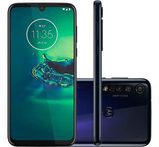Smartphone Motorola Moto G8 Plus 64gb Câmera Tripla Azul