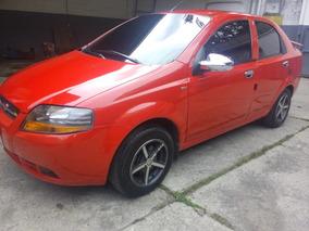 Chevrolet Aveo Automatico 2006 Rojo Con Aire