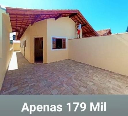 Imagem 1 de 6 de Casa Com Acabamento Excelente Em Nova Itanhaém - 6674 Npc