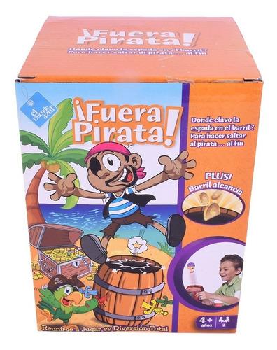 Juego De Mesa Fuera Pirata El Duende Azul 7422 14 Cm