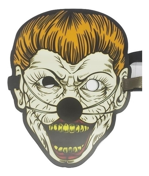 Mascara Luz Led Al Ritmo De Musica Disfraz Halloween Terror3
