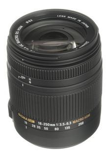 Lente Sigma 18-250mm F/3.5-6.3 Dc Macro Os Hsm P/nikon