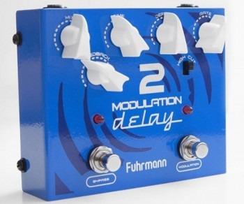 Pedal Fuhrmann Modulation Delay 2 | True Bypass | Guitarra