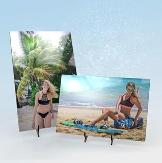 Azulejo Porta Retrato Personalizado Cuadro Decorativo Impreso En Calidad Fotográfica Regalo Original Para Novia O Novio
