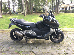 Bmw C600 Sport Negra Como Nueva