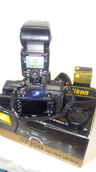 Nikon D 7100 + Flash Sb 700 Nikon