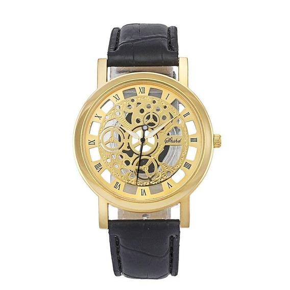 Relógio - Social - Pulseira Preta - Quartz