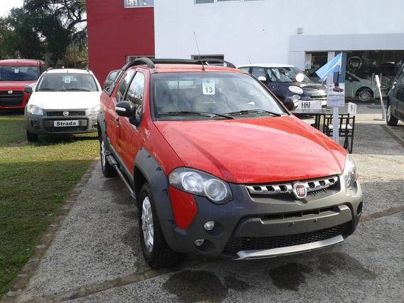 Fiat Strada $188000 Y Cuotas A Tasa 0% Toma/usados1128074263