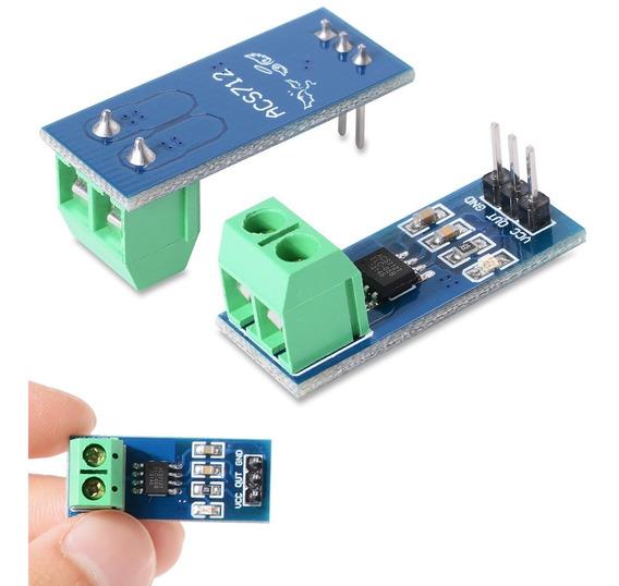 Módulo Sensor De Corrente 5a Acs712 Arduino