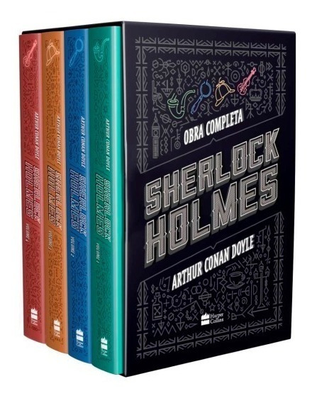 Box Sherlock Holmes - Obra Completa - Arthur Conan Doyle