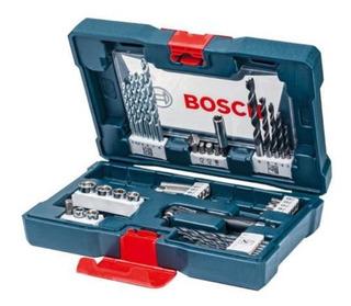 Kit De Brocas, Pontas E Bits V-line Com 41 Peças Bosch