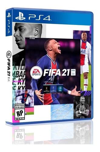 Imagen 1 de 10 de Fifa 21 Ps4 Físico Original Nuevo Sellado Latino Playking