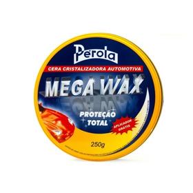 Cera Cristalizadora Mega Wax Pérola 250g