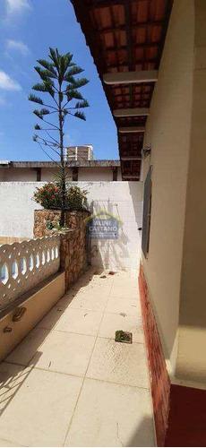 Imagem 1 de 18 de Casa - 2 Dorms, Caiçara, Praia Grande - R$ 500 Mil - Vact1344