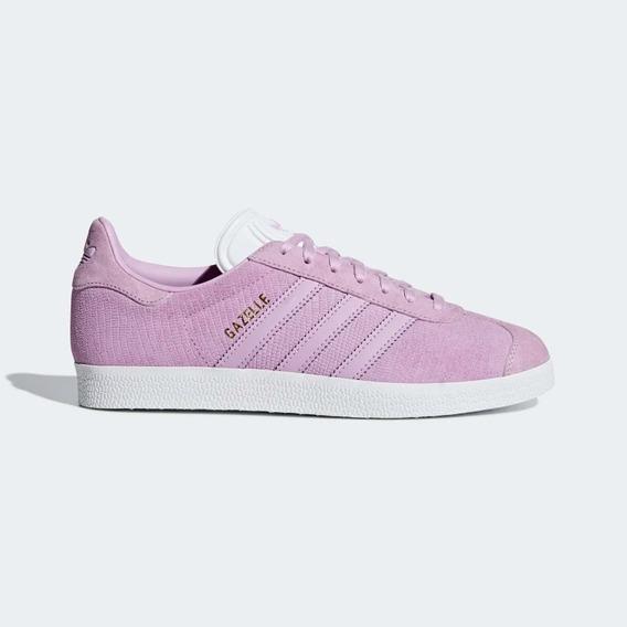 Zapatillas adidas Mujer Gazelle Rosa Oscuro