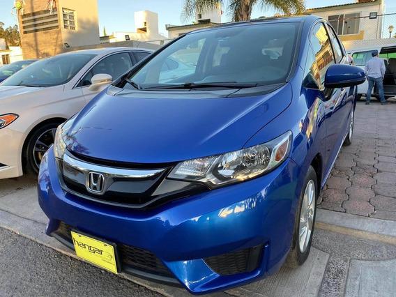 Honda Fit Fun 2017 Manual Azul