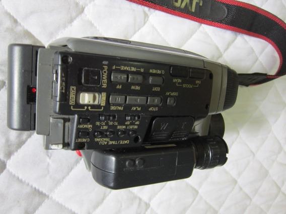 Filmadora Jvc Modelo Gr-ax25u Com Acessórios