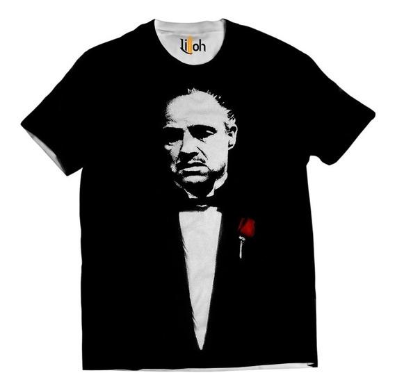 Camisa Clássico Camiseta O Poderoso Chefão The Godfather