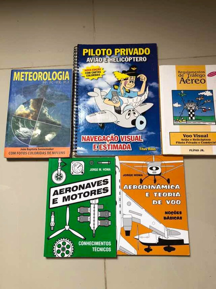 Kit Livros Piloto Privado