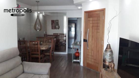 Apartamento À Venda, 108 M² Por R$ 760.000,00 - Santa Paula - São Caetano Do Sul/sp - Ap1358