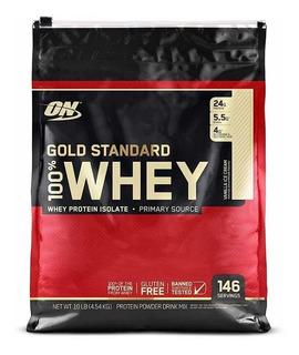 Whey Gold Standard 10lb - Optimum Nutrition + Envío Gratis