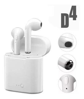 Auricular AirPods Inalambrico Kanji In Ear D4 Sp Kja980b Bt