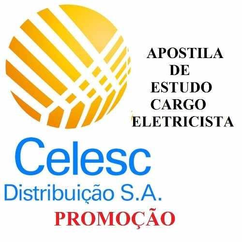 Apostila Concurso Celesc 2018-cargo Eletricista-envio Imedia