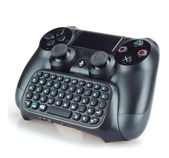 Mini Teclado Sem Fio Controle Ps4 Wireless Keyboard Play 4