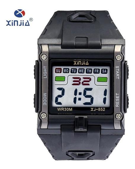 Relógios Xinjia Xj-852 Quadrado Prova D