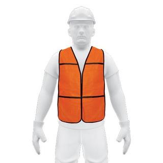 21023 Chaleco De Seguridad, Uso De Día, Naranja Fs