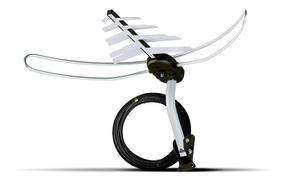 Kit Antena Externa Com Cabo Incluso Para Smart Tv Da Lg 4k