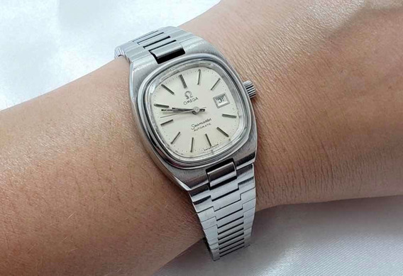 Relógio Feminino Omega Seamaster Automático Original