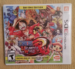One Piece - Unlimited World Red 3ds