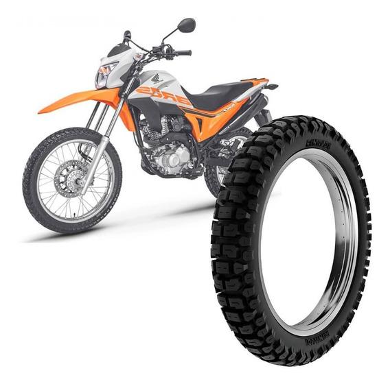 Pneu Moto Nxr Bros Rinaldi 110/90-17 60p Traseiro Rt36