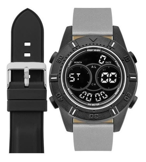 Relógio Mormaii Masculino Ref: Mo1608ab/t8c + Pulseira Extra
