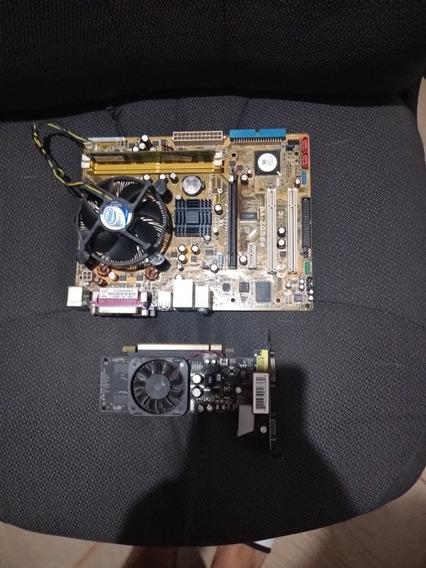 Kit Core 2 Duo Com 2 Gb De Ram E Uma 8400gs 512mb De Vram