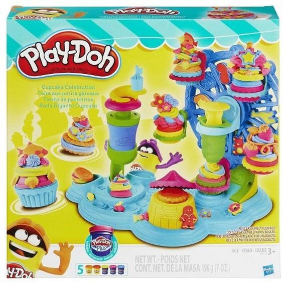 Play Doh Massinha Modelar Roda Gigante Cupcake Hasbro B1855
