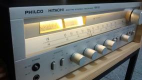 Receiver Philco Hitachi Restaurado, Muito Novo