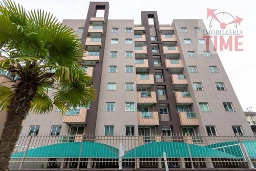Apartamento Com 2 Dormitórios À Venda, 62 M² Por R$ 274.000,00 - Capão Raso - Curitiba/pr - Ap0771