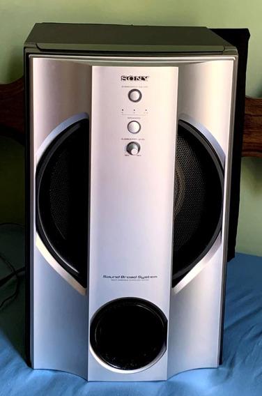Sony Caixa Subwofer Do Som Gnx 100