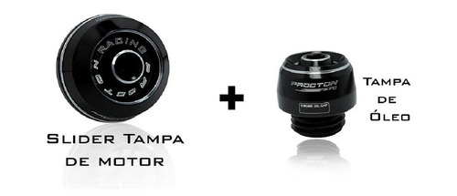 Kit Procton Racing Tampa Do Motor E Tampa Do Óleo Xj6 F