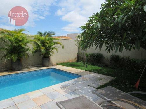 Imagem 1 de 16 de Casa Para Alugar, 222 M² Por R$ 7.000,00/mês - Jd Guaporé - Ribeirão Preto/sp - Ca4305