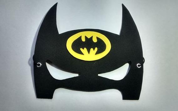 40 Antifaces Batman Superheroes Antifaz + Regalo