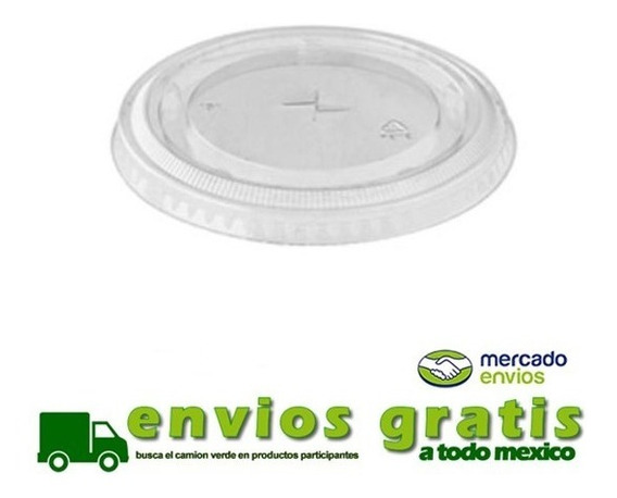 Tapa Plana Para Vaso De Plastico 12 Oz Con 1000 Pz