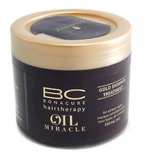 Schwarzkopf Oil Miracle Máscara De Brillo Aceite Argan 150ml